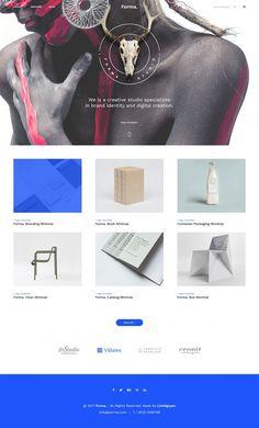 Forma – Minimal Portfolio