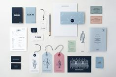 Great Northern Hotel collateral, Here Design