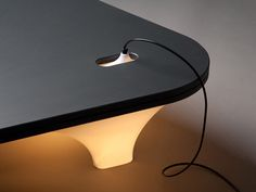 Static Plastic Table by Han Koning #lamp #table #light