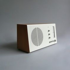 Braun electrical - Audio - Braun RT 20 tischsuper (beech / white)