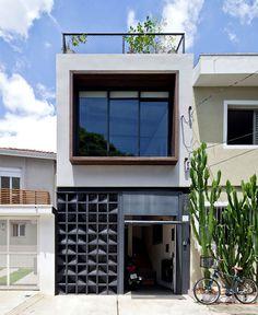 SuperLimao Studio Designed Urban House With Artistic Facade - #decor, #interior, #homedecor, #house, #home, #architecture