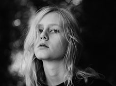 HEDI SLIMANE DIARY #black #white #girl #and