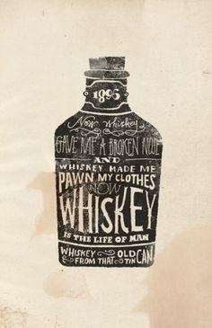 Whiskey Art Print by Jon Contino | Society6