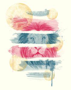 O LEÃO LISTRADO #joao #lion #camiseteria #sketch