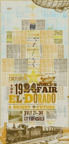 Weightshift — Work: Lost World's Fairs #el #dorado #weightshift