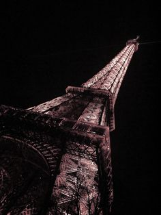 www.kayleighryleydesign.com goes to Paris #paris #eiffel #france #lights #travel #night #photography #tower