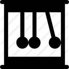 See more icon inspiration related to newtons cradle, momentum, newton, physics, education and energy on Flaticon.