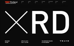 09_TEDx Site 01 #website #ted #typography