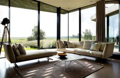 Sustainable Home Designed by UNStudio sustainable solution home 5 #seat #sofa #design #furniture