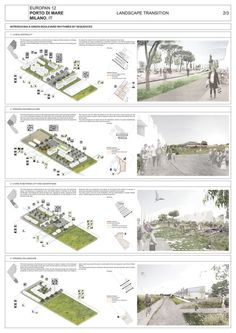 Results of the Europan 12 Architecture Competition #drawings #diagrams #architecture #urbanism