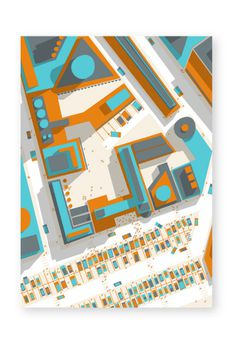 http://www.philippe nicolas.com/files/gimgs/36_ground 01 1 by philippe nicolas 01.jpg #vector #modern #design #map #landscape #illustration #architecture #street