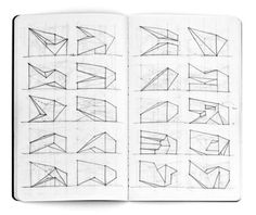 Shapes #forms #drawing #sketchbook #architecture #sketches #pencil #rzlbd