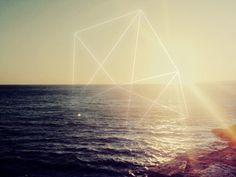 DEFAULT MODE NETWORK #sun #photo #graphic #geometric #landside #artwork #summer #skyline