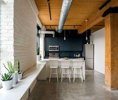 Great Idea to Arrange a Small Loft Apartment - InteriorZine