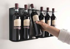 TEEwine Bottle Holder by Mauro Canfori - product design, #design, industrial design, object design