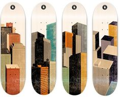 Skateboard | - Part 6 #city #illustration #color