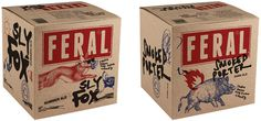 New Logo and Packaging for Feral Brewing Company by Block #packaging #type #illustration #bottle