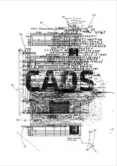 La Metodología del Caos | Fascículo | John Cage on the Behance Network #cads