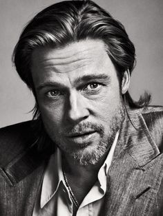 TIME's Best Portraits of 2012 LightBox #hollywood #actor #brad #photography #portrait #se7en #bw #pitt