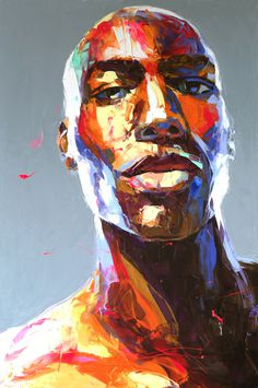 Francoise Nielly | PICDIT #color #portrait #painting #art #colour #deign