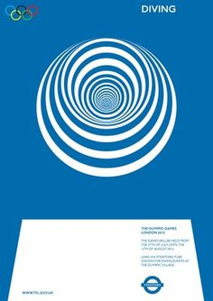 Alan Clarke: Olympic posters proposal (Monoscope) #olympic #alan #clarke #poster