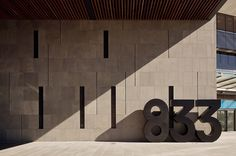 News/Recent - Fabio Ongarato Design | ANZ Centre #numbers #signage #big #type