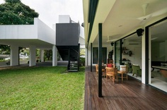 Modern Bungalow House in Kuala Lumpur Renovated by Fabian Tan 1