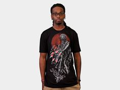 http://www.designbyhumans.com/shop/men/destroy-soldier-shirt/10135/ #illustration #design #graphic