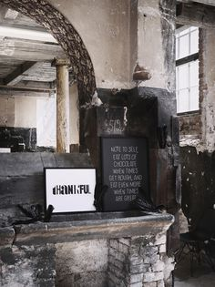 CJWHO ™ (Ruins) #quote #design #interiors #chocolate #photography #ruins #art #typography