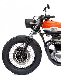 tumblr_lw9yijcNzT1qe90wno1_1280.jpg (JPEG Image, 856×1124 pixels) #orange #retro #motorbike #deus