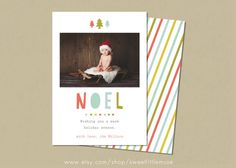 holiday card template #inspiration #creative #design #holiday #cards
