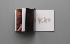 """L'Antidote jewelry branding - Mindsparkle Mag Mikina Dimunova created a sleek and elegant branding for """"L'ANTIDOTE JEWELLERY"""" based in Prague. #packaging #identity #branding #design #color #photography #graphic #design #gallery #blog #project #mindsparkle #mag #beautiful #portfolio #designer"""