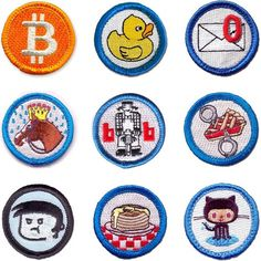 Nerd Merit Badges - FPO: For Print Only #badges #patches #icons