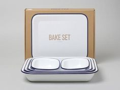 Falcon Enamelware - Bake Set #enamelware