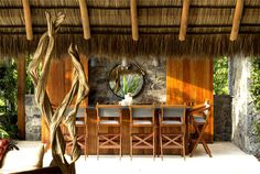 Vacation Villa Completely Open to the Mexican Pacific Bay spacious volumes full natural light
