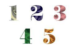 TYPE — DERRICK C. LEE #illustration #type #numbers #derrickclee