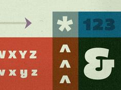 Dribbble - Bemio Specimen by Riley Cran #ampersand #type #color #typography