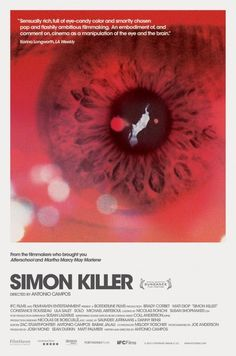 Simon Killer #movie #schaefer #simon #antonio #poster #brandon #killer #campos