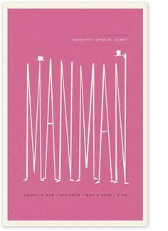 PINK #alvin #pink #diec #poster #manman #typography