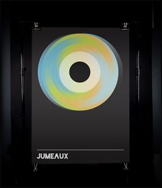 James Kirkups portfolio #circle #black #poster