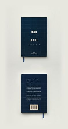 Das Boot book cover redesign on Behance