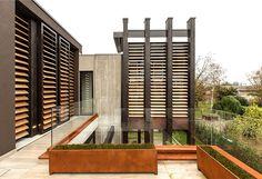 Giraldi Associati Architetti Design a Concrete House in Bologna - #architecture, #house, #home, home, architecture