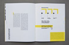 The Tipping Point: Annual Report on Behance #annual report #layout