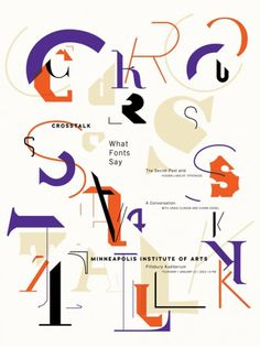 ↪ #type #collage #font #poster