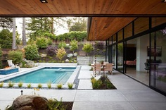 Glass Wall House by Klopf Architecture 13