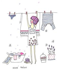 washing #illustration