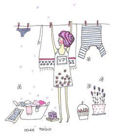 washing #illustration