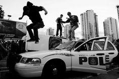 DeadFix » cop stomp #vancouver #photojournalism #riots
