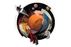 New Scientist #illustration #world #studiolythgoe #art