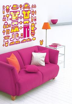 Google Reader (1000+) #illustration #wall #sticker